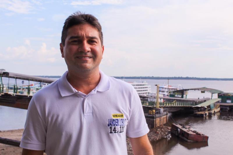 Candidato a vereador, Jander Lobato, propõe fomento do empreendedorismo em Manaus
