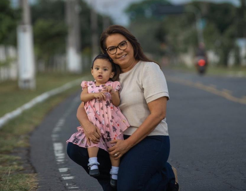 Criança merece amor, carinho e  direitos respeitados, diz Márcia Baranda