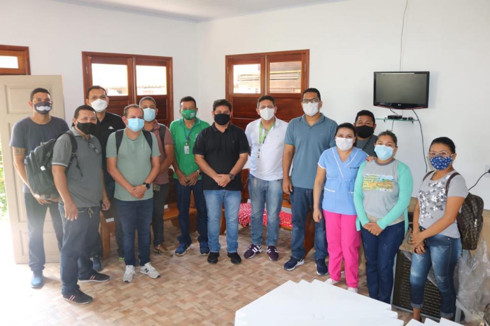 Dsei/Parintins e Prefeitura de Barreirinha firmam parceria para ampliar rede de saúde para a população Sataré-Mawé