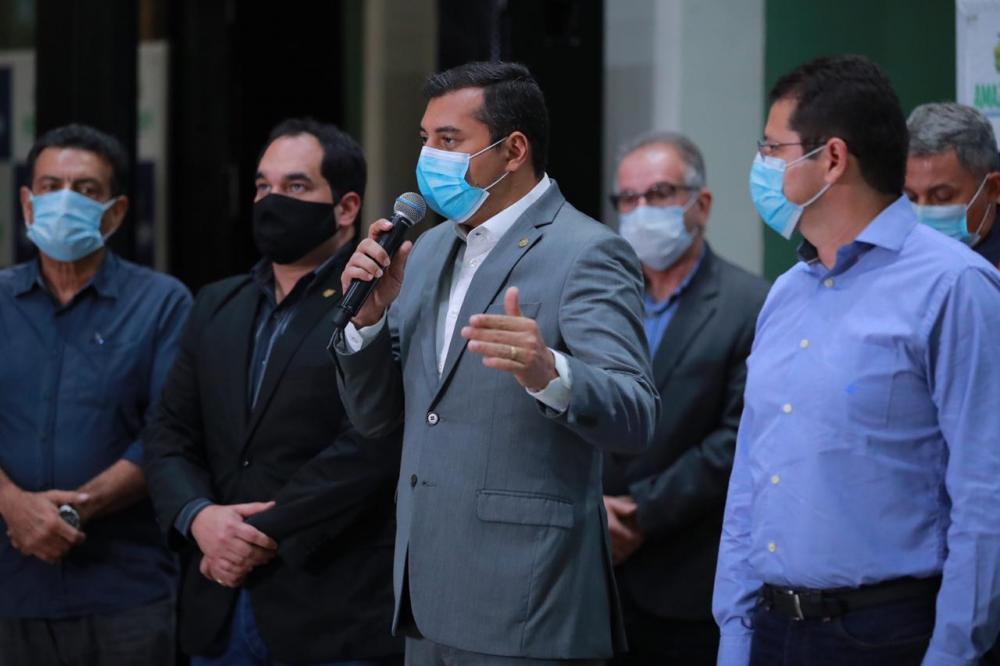 Wilson Lima anuncia decreto com medidas de prevenção para período eleitoral no Amazonas