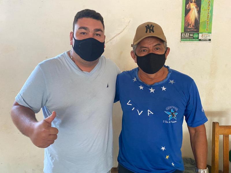 Presidente da Amopin declara apoio a candidatura de Alex Garcia para a Câmara