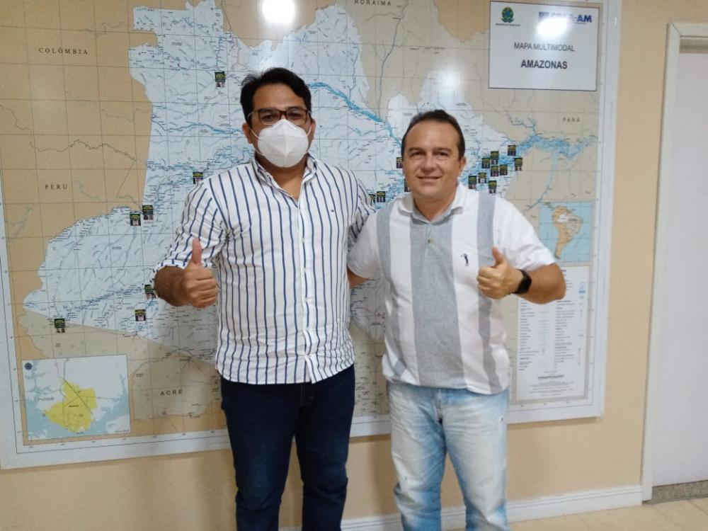 Neto Cardoso recebe apoio da presidência do Creas/Amazonas