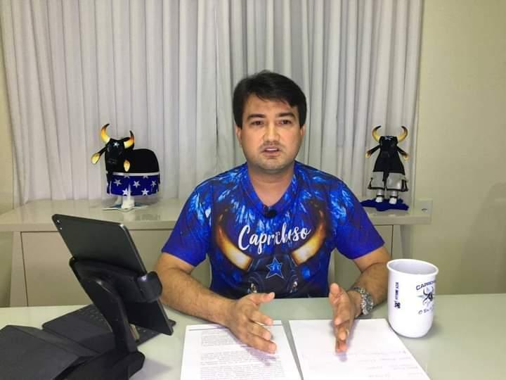 Jender Lobato confirma saída de David Assayag do quadro de itens do Boi Caprichoso