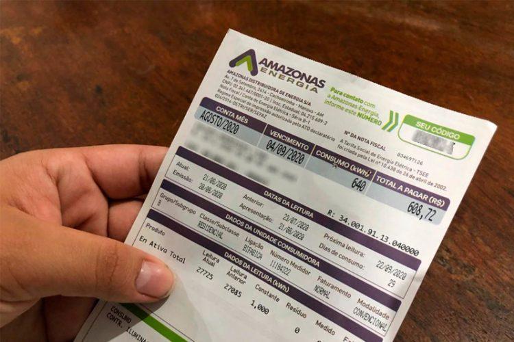Conta de luz no Amazonas ficará 4,30% mais cara a partir de domingo