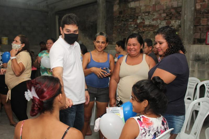 Candidato a vereador Jander Lobato imprime diálogo participativo com moradores de Manaus