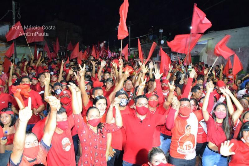 Israel Paulain avermelha Nhamundá com arrastão histórico a uma semana da eleição
