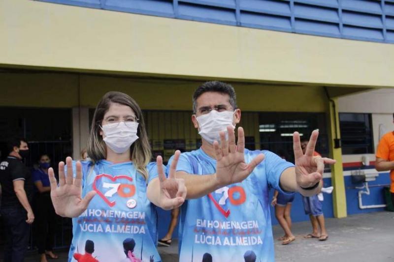 Ao votar, David Almeida refuta ligação com 'caciques': 'os combato desde 2017'