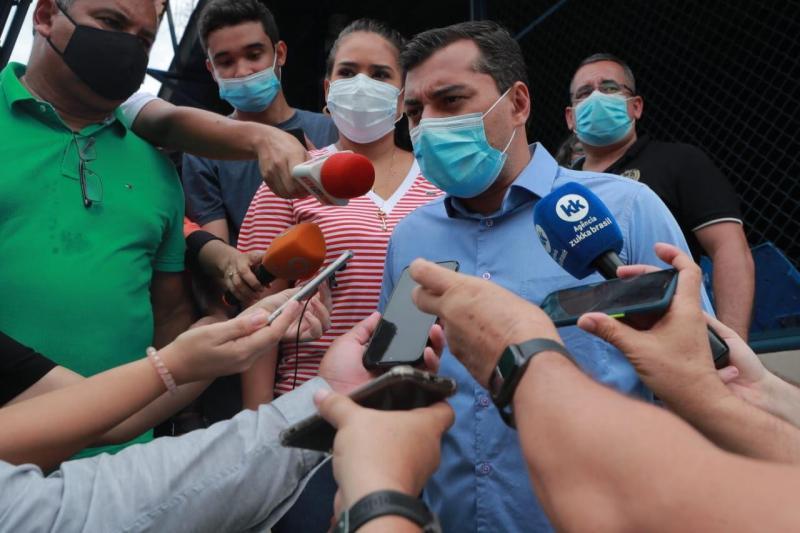 Wilson Lima acompanha operação de segurança e diz que Governo estará aberto ao diálogo