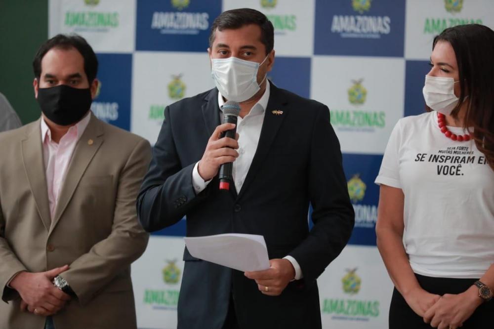 Wilson Lima anuncia pagamento do 13º e antecipação do salário de dezembro no Amazonas