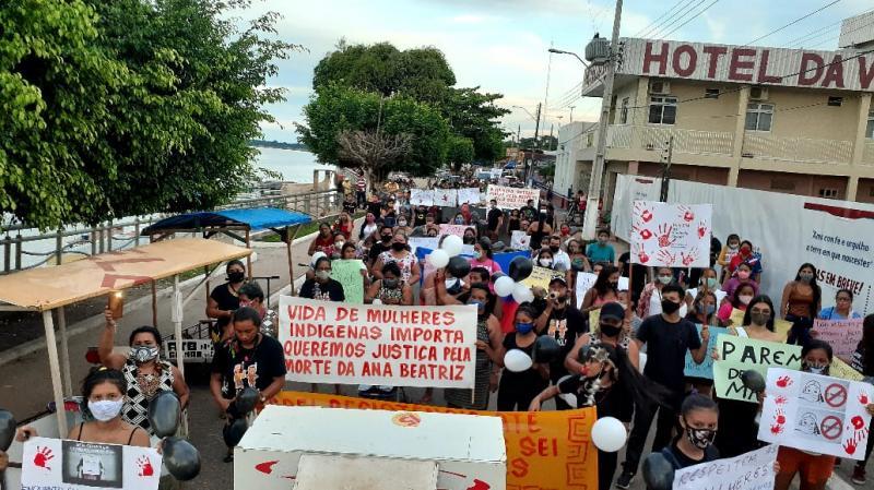 Acusados de abusar e matar criança indígena são soltos e população vai às ruas pedir justiça