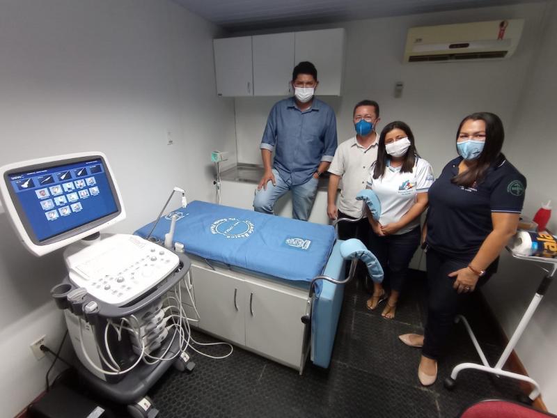 UBS Fluvial de Parintins ganha ultrassonografia e equipamentos para laboratório