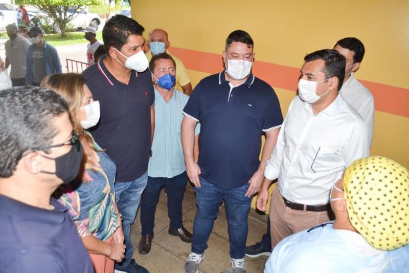 Articulação de Bi Garcia com Wilson Lima garante repasse de mais de R$ 2,5 milhões ao hospital Padre Colombo