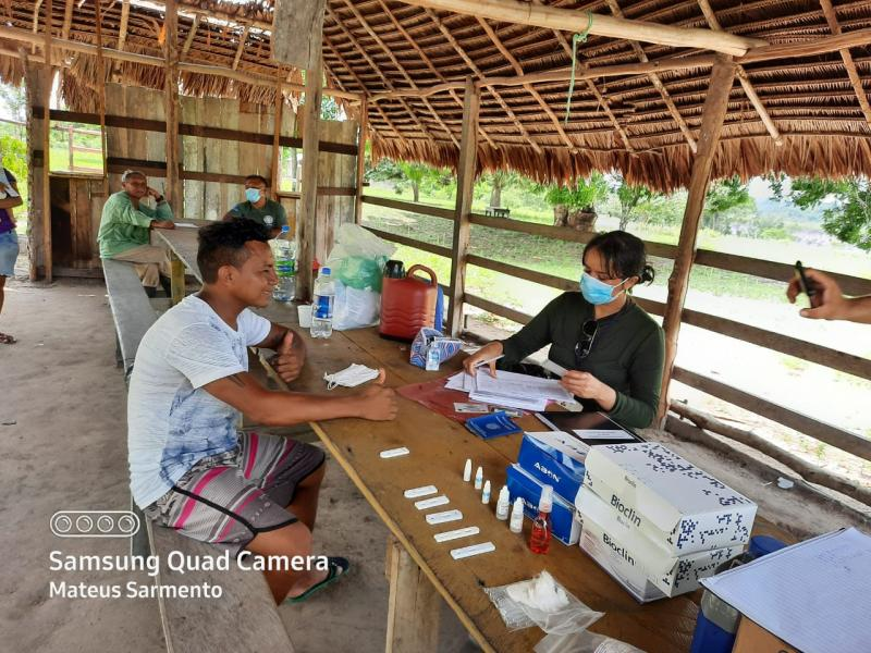 Dsei/Parintins registra aumento de casos de Covid-19 após testagem em massa nas terras indígenas
