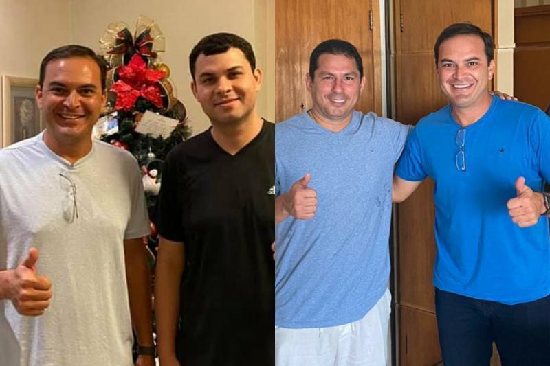 Mateus Assayag cumpre agenda com deputados Marcelo Ramos e Saullo Vianna em Manaus