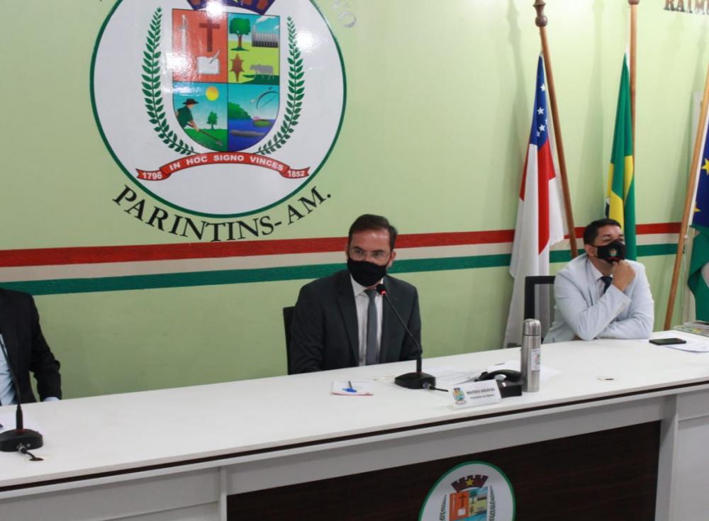 Câmara de Parintins realiza primeira Sessão Extraordinária de 2021