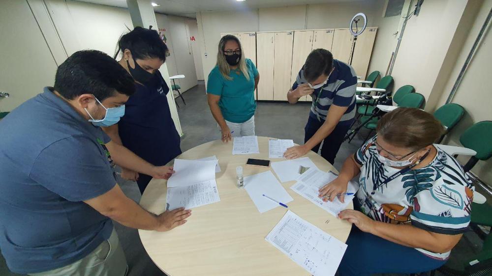 Profissionais de saúde contratados começam a se apresentar nas unidades da SES-AM