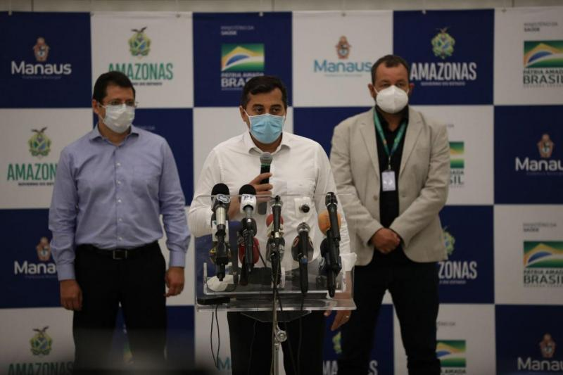 Em Manaus, força-tarefa reúne os três níveis de Governo e atua para abrir 392 leitos