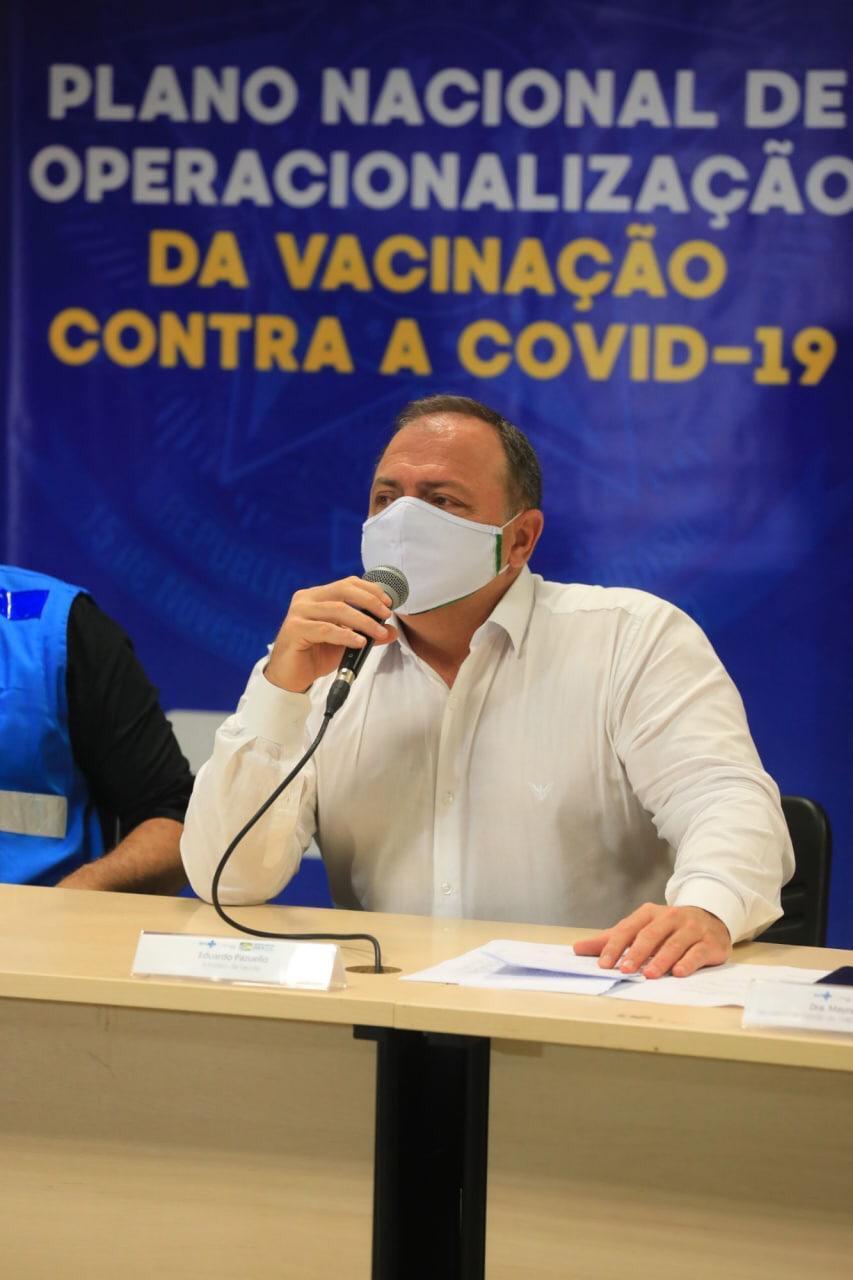 'Manaus é a prioridade nacional neste momento', afirma ministro da Saúde