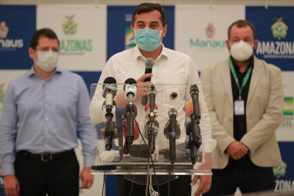 Wilson Lima assegura plano estruturado para vacinação contra Covid-19