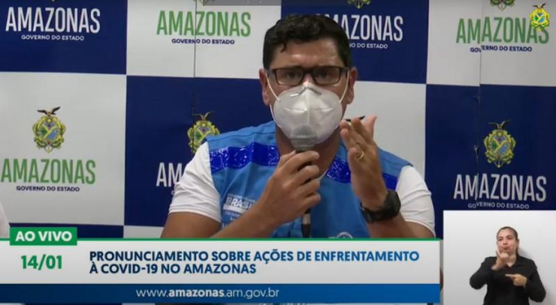 Pacientes do Amazonas serão levados a outros estados para atendimento, diz governo