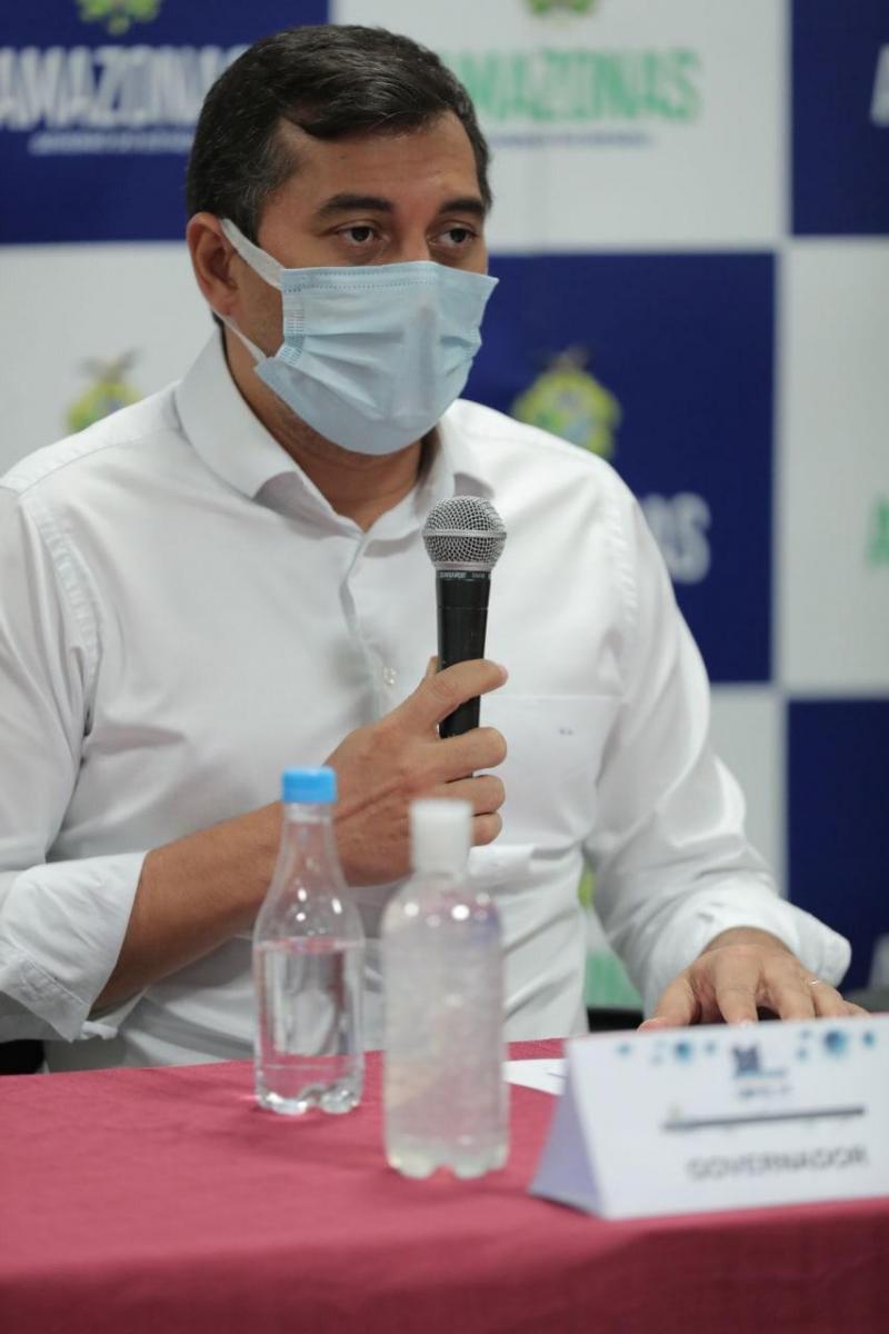 Wilson Lima anuncia novas medidas de enfrentamento à Covid-19 no Amazonas