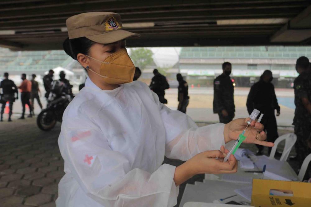 Vacinação contra Covid-19 alcança 1.177 agentes da segurança pública no Amazonas.