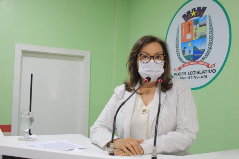 Márcia Baranda solicita esclarecimento da empresa Paris sobre rompimento do muro de arrimo, em Parintins.