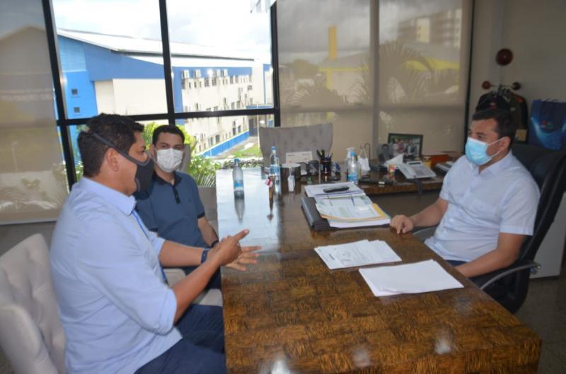 Prefeito Bi Garcia alinha investimentos com o Governo do Estado.