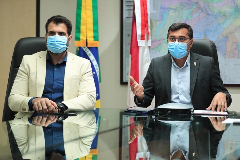 Wilson Lima destaca ações do Amazonas no combate às mudanças climáticas