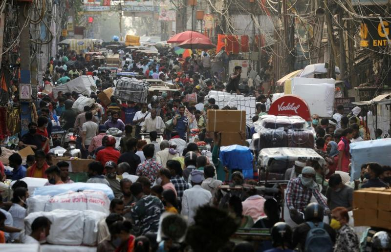 Índia registra recorde de 200 mil novos casos de Covid e passa de 14 milhões de infectados