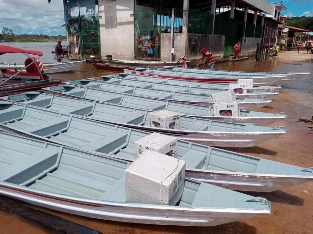 Governo do Amazonas fortalece cadeia produtiva do pescado em Anamã