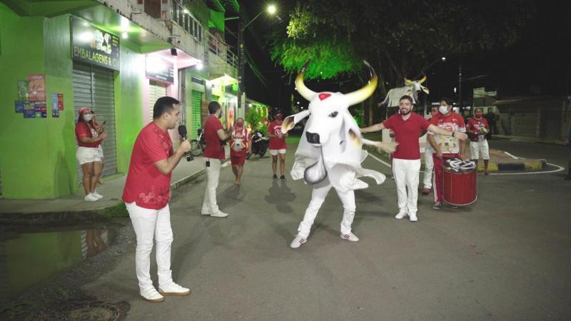 Alvorada 2021: Boi Garantido prepara fortes emoções após gravar vídeos nas ruas de Parintins