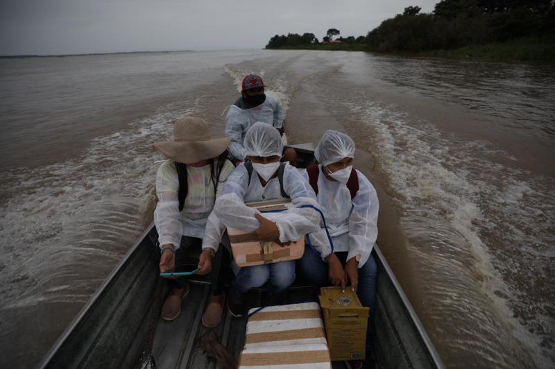 Governo do Amazonas terá R$ 500 mil para ampliar vacinação contra Covid-19 no interior