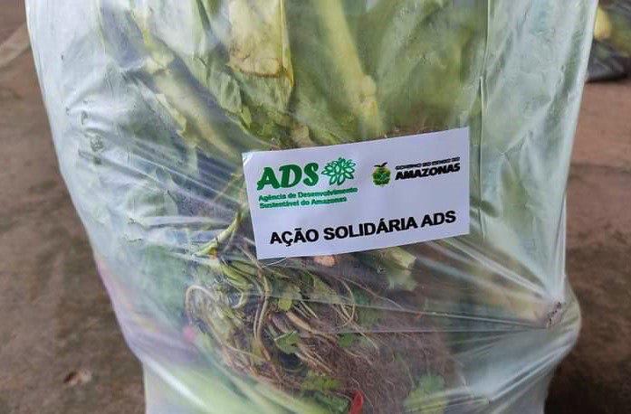 """Programa """"ADS Solidária"""" adquire mais de 7 toneladas de alimentos regionais em Presidente Figueiredo"""