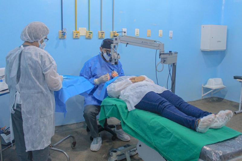 Parintins inicia primeira jornada de cirurgias oftalmológicas de 2021