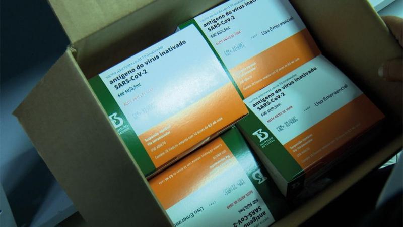 Governo do Amazonas recebe lote com 14.700 doses de vacina contra a Covid-19