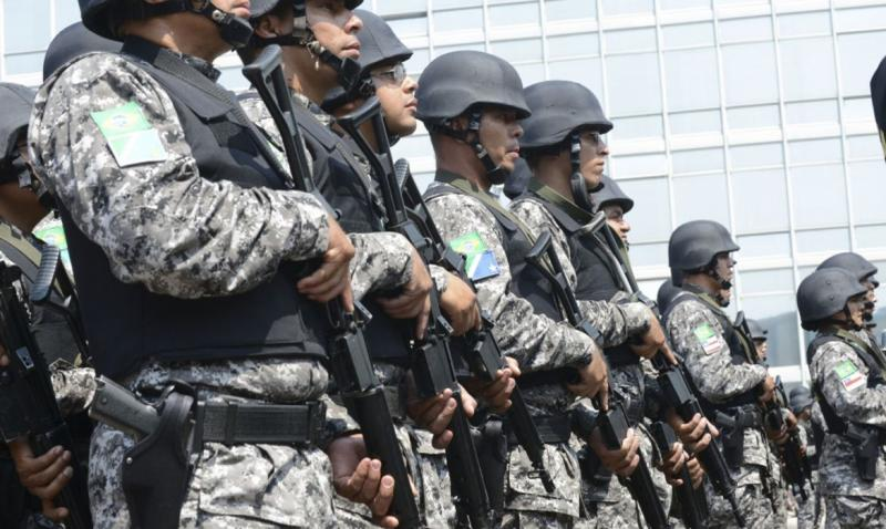 Força Nacional de Segurança Pública chega ao Amazonas nesta quarta-feira