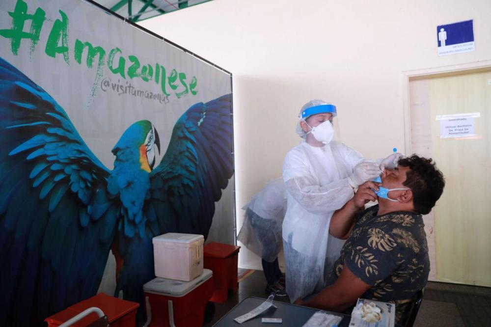 Governo do Amazonas inicia testagem de passageiros no Porto de Manaus