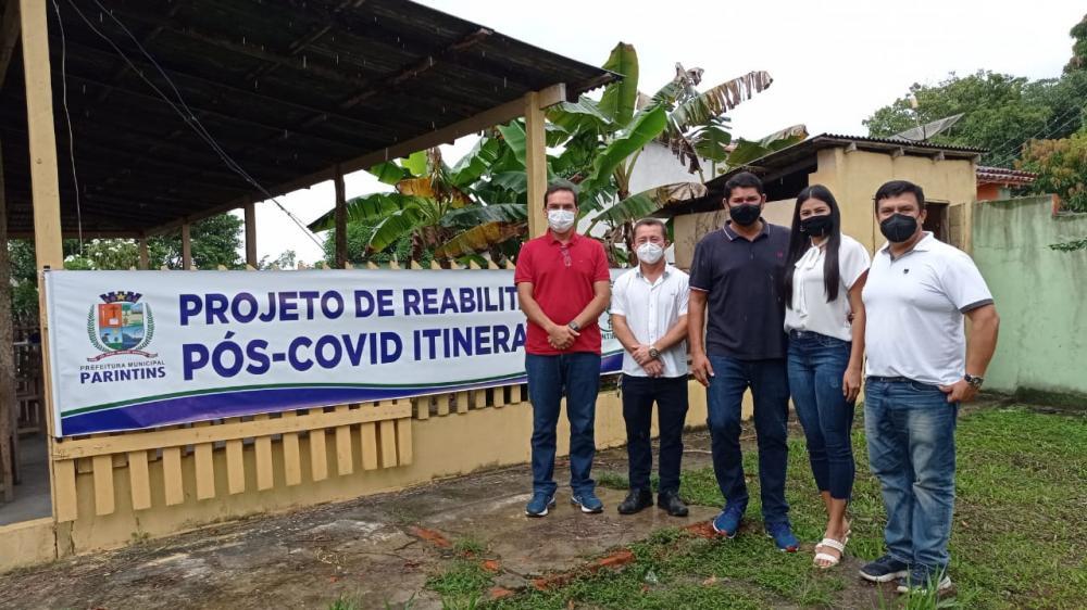 Em Parintins, prefeitura inicia Projeto de Reabilitação Pós Covid Itinerante, na comunidade do Aninga