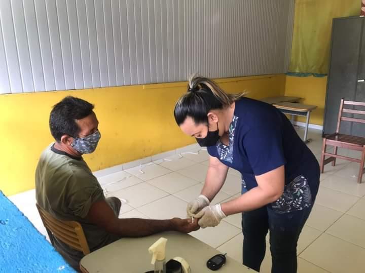 Vereador Babá Tupinambá leva ação em saúde para comunidade de Parintins