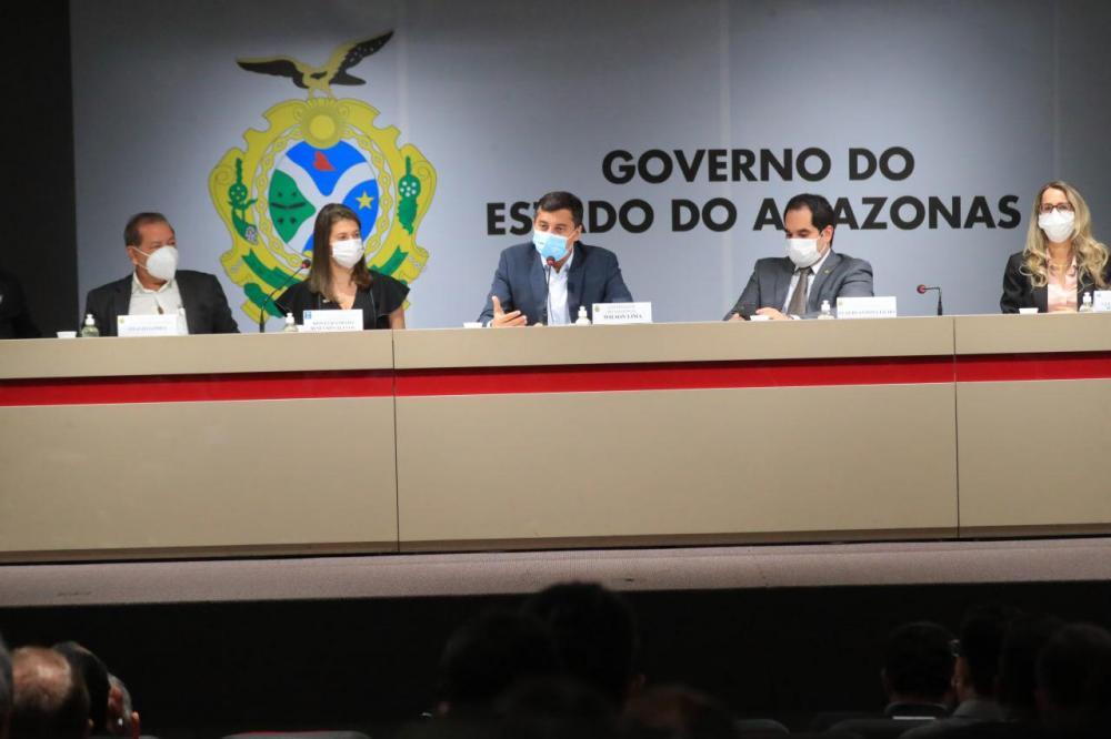 Wilson Lima destaca as ações do Estado para elevar a transparência pública