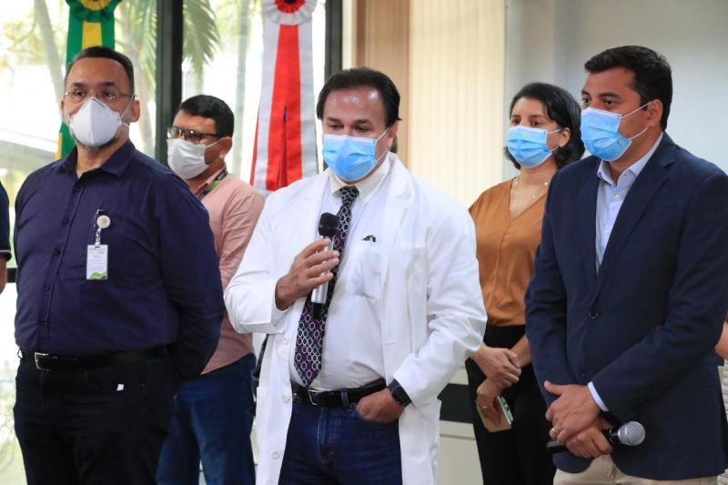Governador Wilson Lima anuncia médico Anoar Samad como novo secretário estadual de Saúde