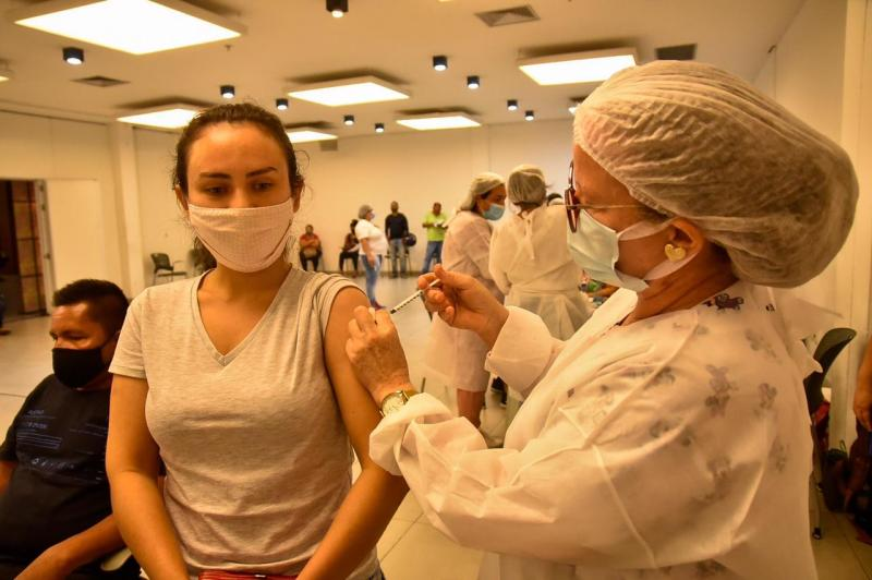 Vacina Amazonas: mutirão da imunização chega a 20 mil doses aplicadas