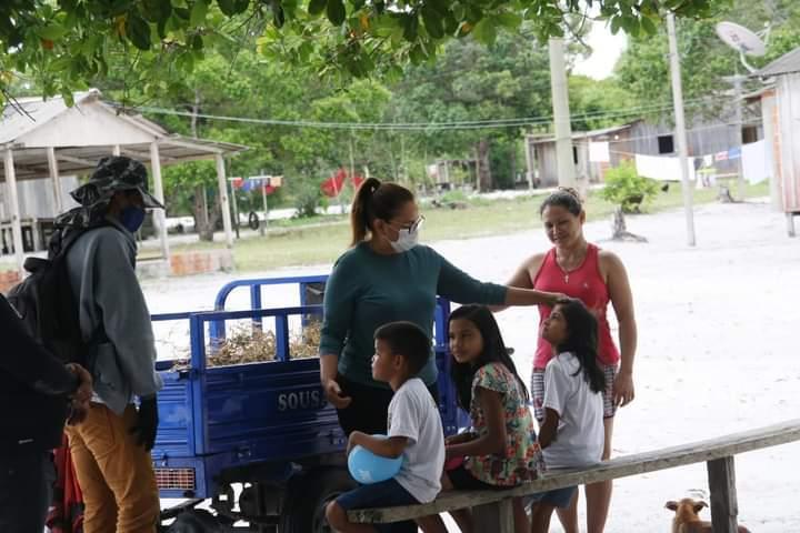 Vereadora Márcia Baranda visita zona rural e ouve demandas das comunidades