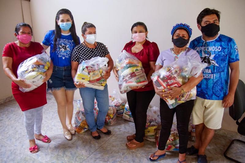 Boi Bumbá Caprichoso promove ação social em abrigo infantil municipal