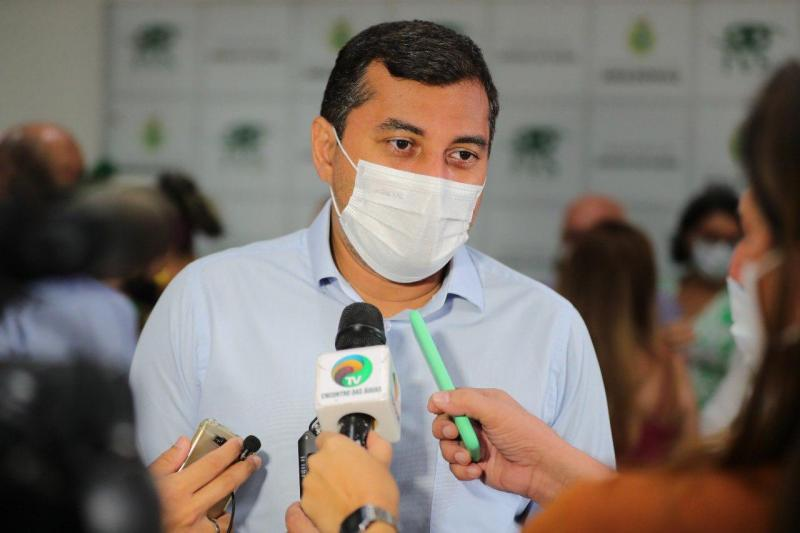 Governador Wilson Lima anuncia mutirões 'Vacina Amazonas' em cinco municípios no sábado, 10 de julho