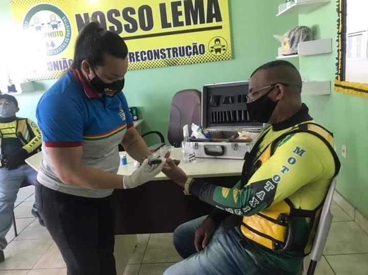 Vereador Babá Tupinambá promove ação de saúde para mototaxistas