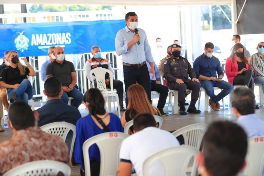 Em correção histórica, Wilson Lima institui comissões de concurso com 2,5 mil vagas para segurança pública do Amazonas