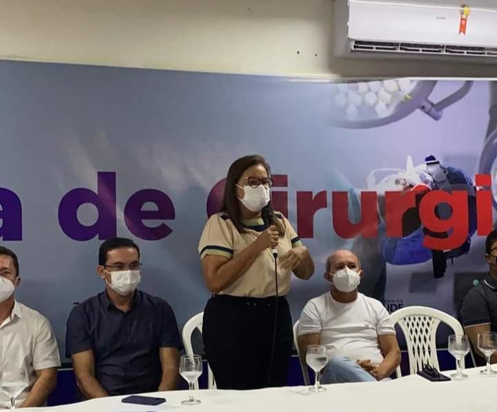 Vereadora Márcia Baranda destaca Saúde da Mulher como prioridade, durante abertura da Jornada Ginecológica