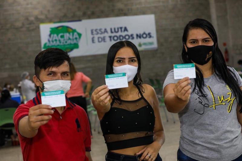 Mutirão Vacina Amazonas ultrapassa marca de 74 mil doses aplicadas contra a Covid-19 em 30 horas na capital